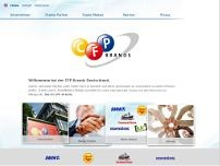 CFP Brands Süsswarenhandels GmbH & Co. KG website screenshot