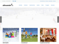 allrounder winter world GmbH & Co. KG Zentrale website screenshot