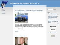 Technisches Hilfswerk Bundesanstalt (THW) Landesverband Hessen, RPL, Saarland website screenshot