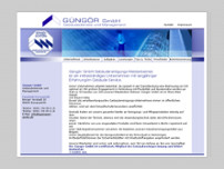 Güngör GmbH website screenshot