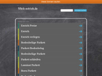 Fifeik Estrich GmbH website screenshot