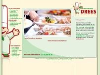 Partyservice Drees GmbH website screenshot