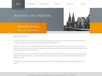 Stephan Jansen-Hackethal website screenshot