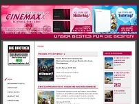 CinemaxX-Solingen GmbH website screenshot