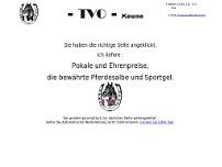 TVO Keune website screenshot