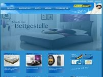 Waterbed Discount Berlin website screenshot