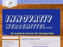 Innovativ Werbemittel GmbH website screenshot