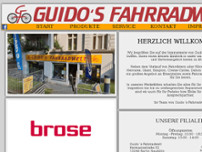 Guido's Fahrradwelt website screenshot