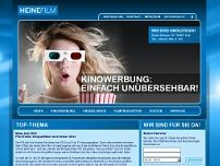 Europa Film + Werbung GmbH website screenshot