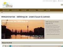 ABW oikoartec GmbH website screenshot
