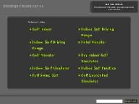 Indoorgolf Münster website screenshot