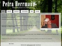 Petra Herrmann website screenshot