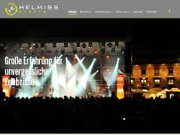 Helmiss Events GmbH website screenshot