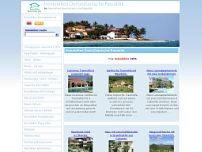 Immobilien Dominikanische Republik website screenshot