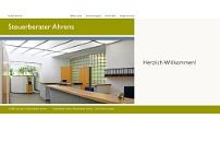 Heinz-Georg Ahrens website screenshot