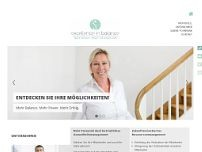 Sabine Fohrmann Gesundheits Coach website screenshot