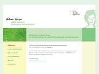 Dipl.-Psych. Michaela Langen website screenshot