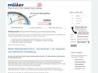 Ronald Werbeartikel-Service website screenshot