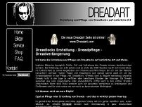 Dreadart.de website screenshot
