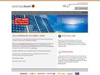 Solarbau Bonn website screenshot