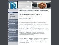 BB VersicherungsMakler website screenshot