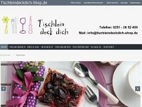 Tischlein deck dich website screenshot
