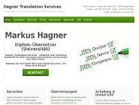Diplom-Übersetzer (Univ.) Markus Hagner website screenshot