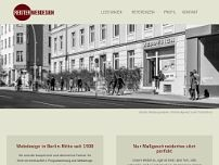 Reister Webdesign GmbH website screenshot