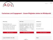 ADL Allgemeiner Deutscher website screenshot