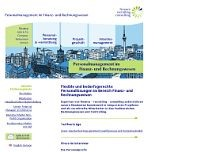 finance - recruiting - consulting GmbH & Co. OHG website screenshot