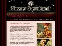Figurentheater SternKundt Köln website screenshot