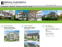 Brauneisen Immobilien GmbH & Co. KG website screenshot