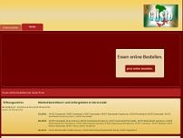 Pizza Gusto website screenshot