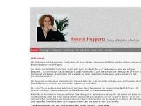 Dipl. Ing. Renate Huppertz website screenshot