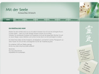 Anouchka Driesch website screenshot