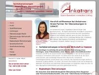 Annekathrin Schlömp website screenshot
