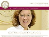 HeilZentrum Regensburg website screenshot