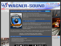 Wagner-Sound GbR website screenshot