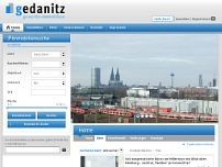 Olaf Gedanitz website screenshot