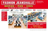 Fashion Jeanshalle GmbH - Frankfurt website screenshot