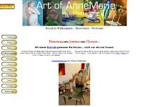 Art Of AnneMarie website screenshot