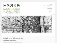 Jörg Haake website screenshot
