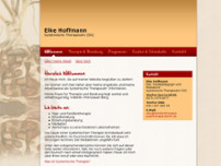 Elke Hoffmann website screenshot