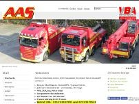 AAS GmbH website screenshot