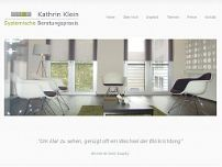 Kathrin Klein website screenshot