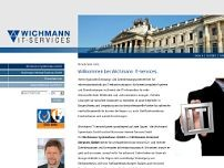 Klaus Wichmann website screenshot