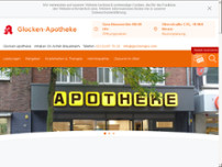 Glocken-Apotheke website screenshot