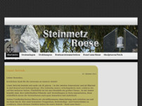 Steinmetzbetrieb Roese GbR Grabmale, Skulpturen, Bildhauer Bad Honnef website screenshot