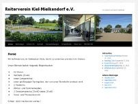 Reitverein Mielkendorf e.V. website screenshot