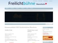 Freilichtbühne Mannheimbühne e.V. website screenshot